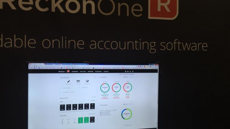 Reckon One launch at Accountex