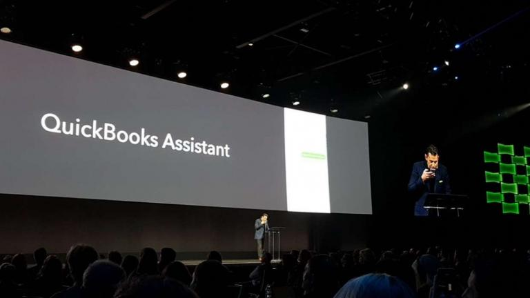 QuickBooks general manager Sasan Goodarzi unveils QB Assistant in San Jose