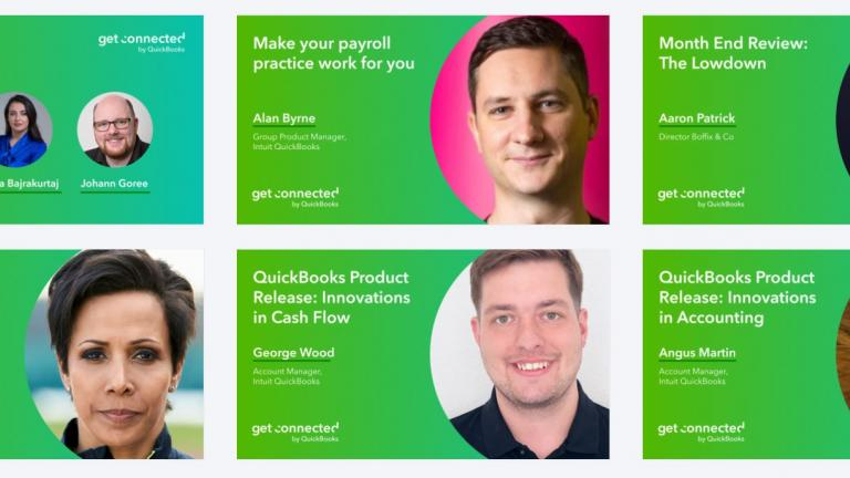 QuickBooks Get Connected Virtual 2020 line-up