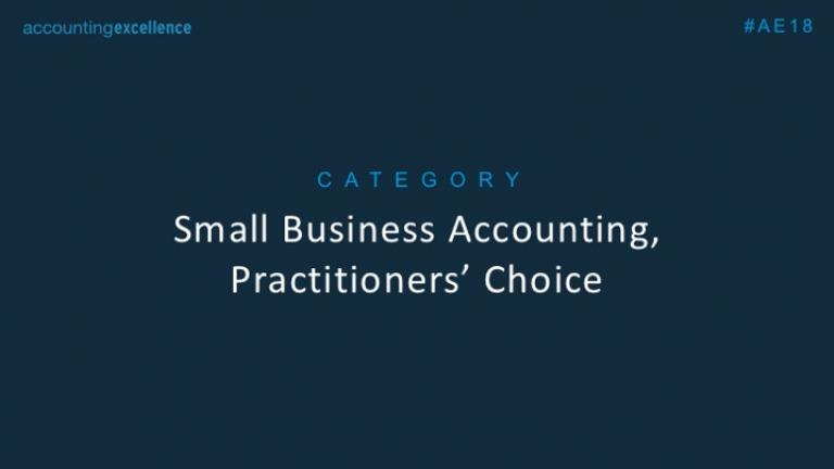 Small Business Accounting Software of the Year, Practitioners' Choice