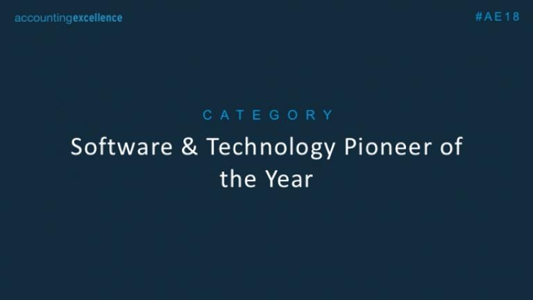 Software & Technology Pioneer of the Year