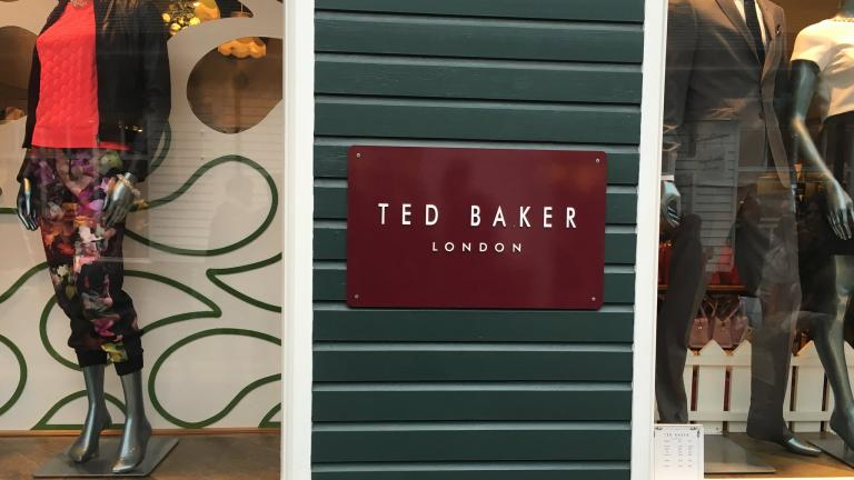 ted baker shop front