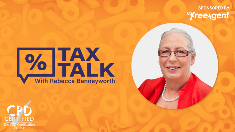 Tax Talk Logo