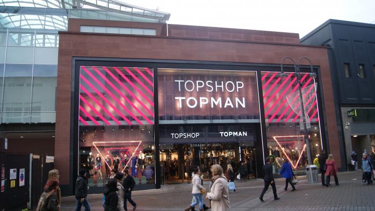 Topshop and Topman Leeds