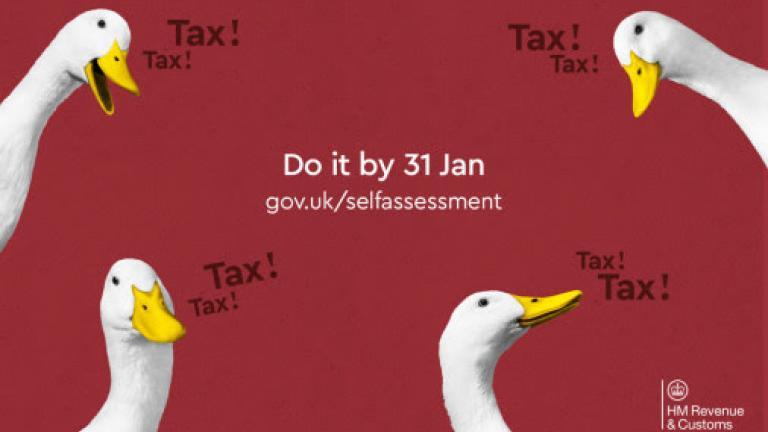 HMRC's duck campaign