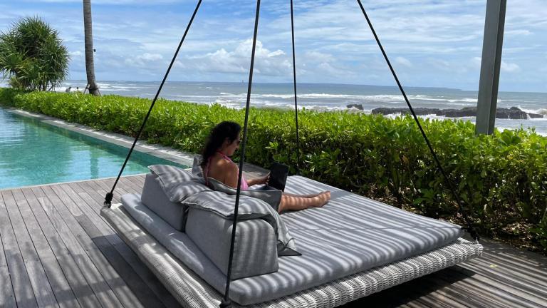 Alex Falcon in Bali
