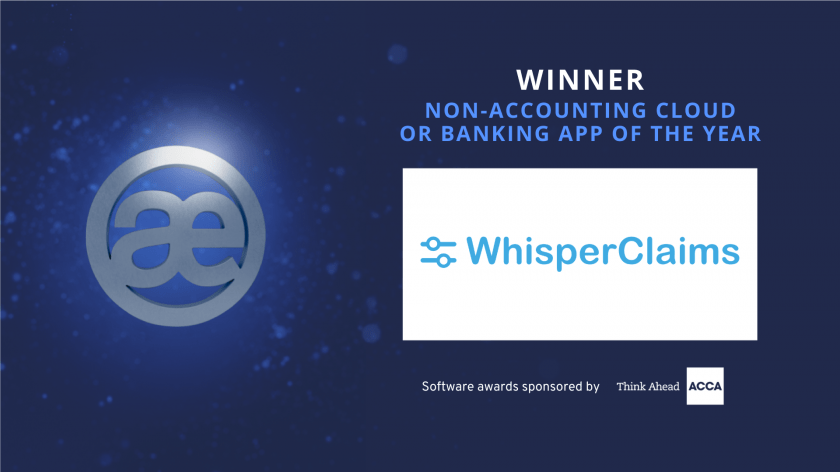 NON-ACCOUNTING CLOUD OR BANKING APP OF THE YEAR