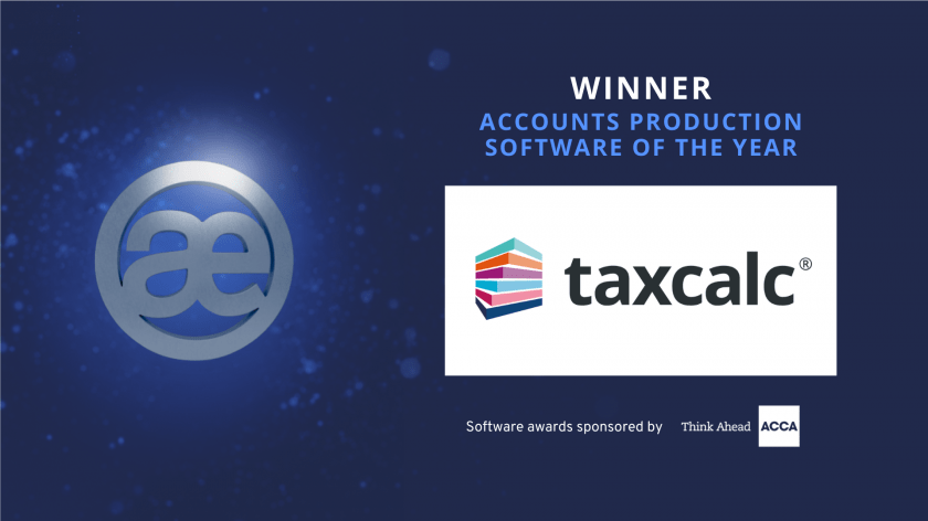 Accounts production software winner