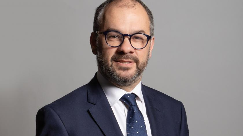 Official portrait of MP Paul Scully