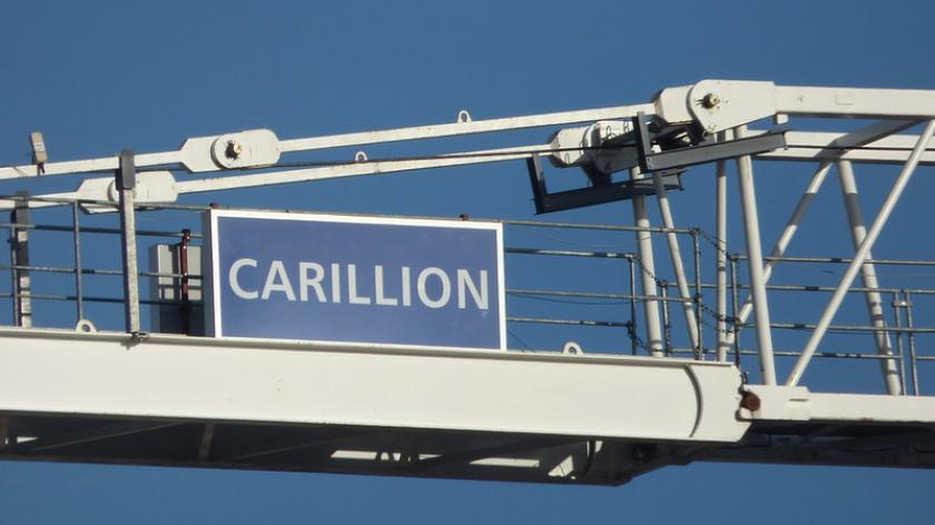 Abandoned Carillion crane for One Chamberlain Square