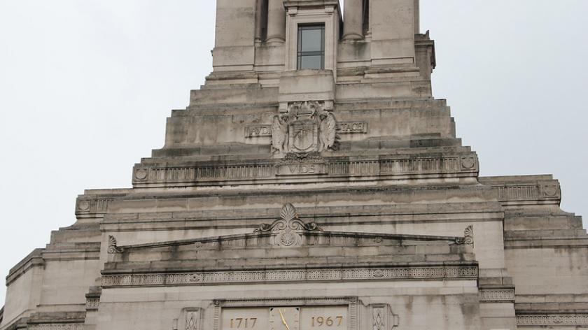 Roofline and tower of Freemasons Hall