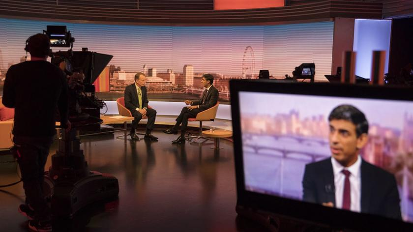 CJRS interview: The Chancellor Rishi Sunak appears on the BBC's Marr Show