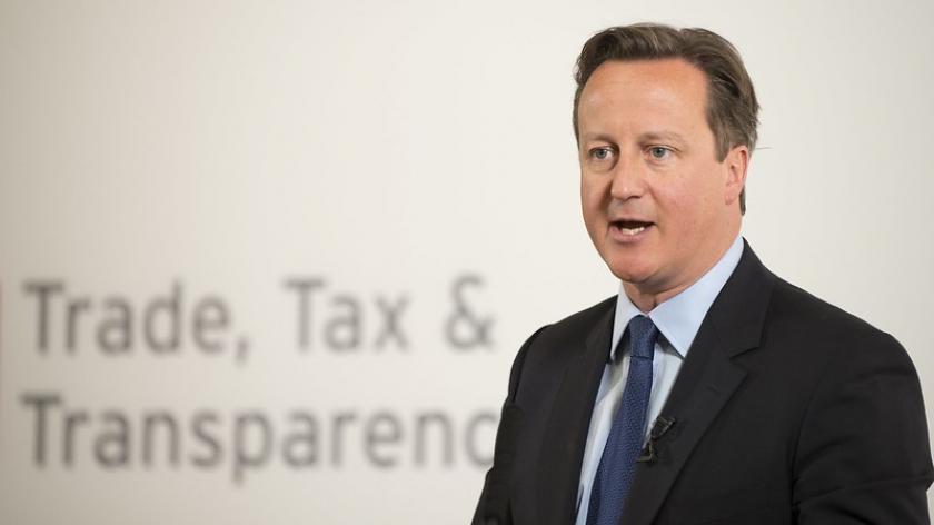 Former PM David Cameron