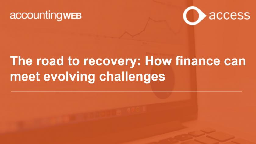 The road to recovery: How finance can meet evolving challenges