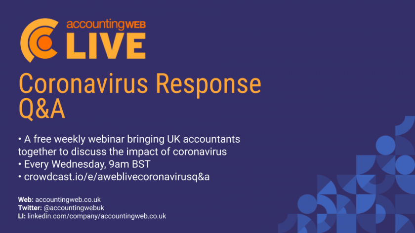 AccountingWEB Live | Coronavirus Response Q&A
