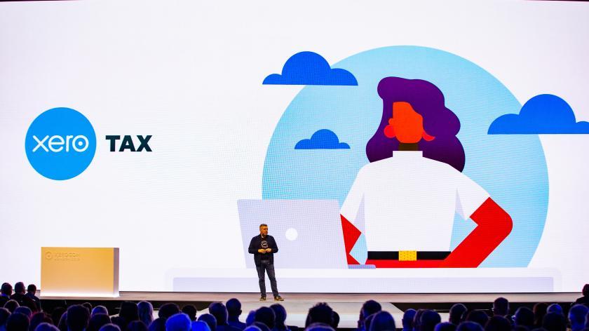 Photo of presentation at Xerocon 2019.