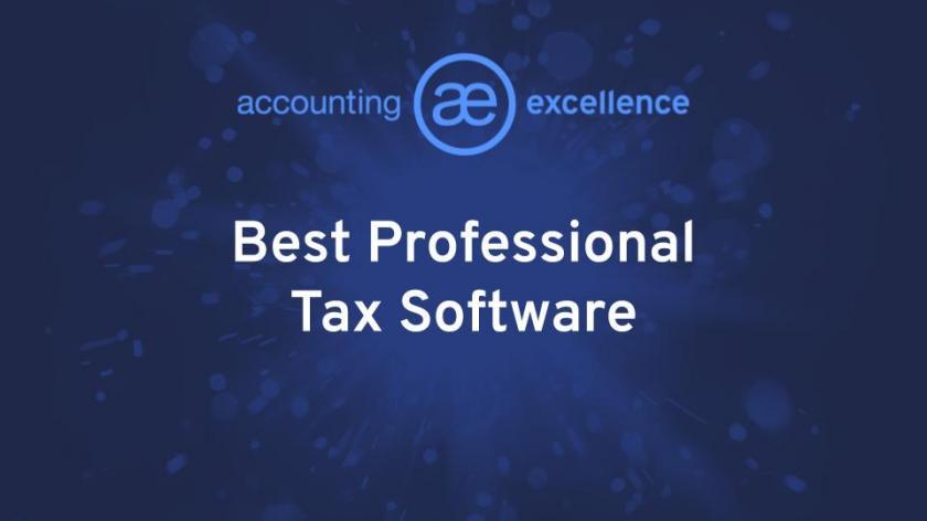 Best Professional Tax Software