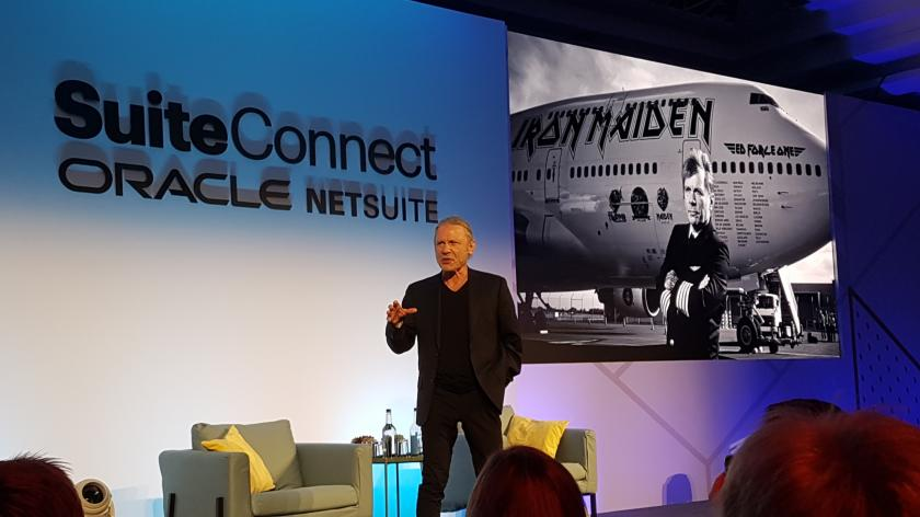 Bruce Dickinson at NetSuite SuiteConnect