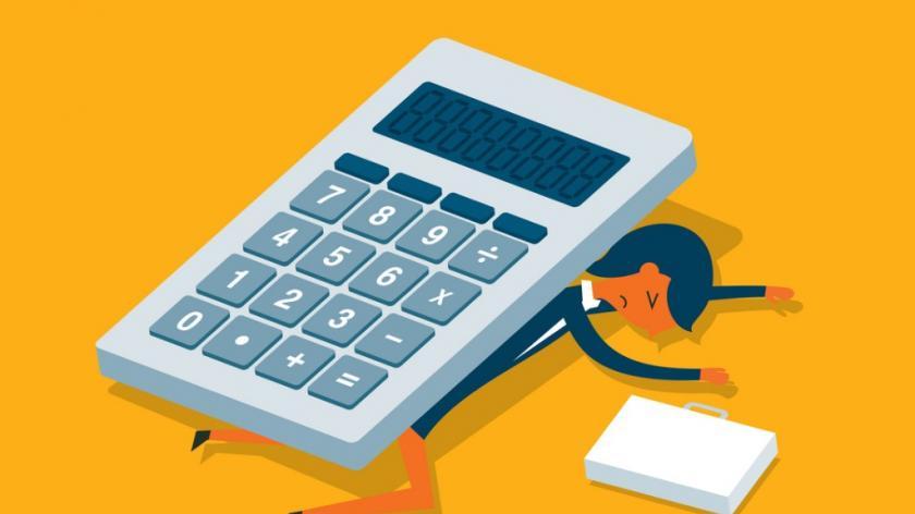 Calculator - businesswoman