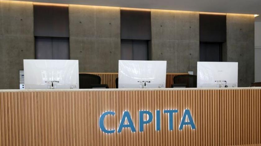 Capita reception desk