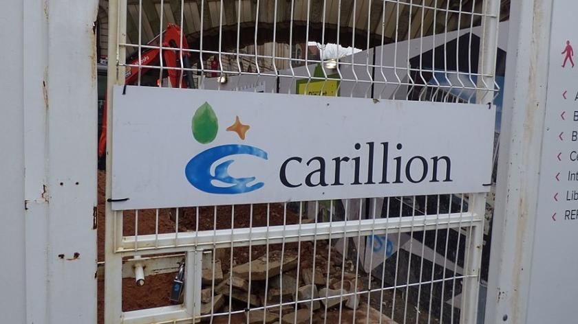 Carillion in trouble - Paradise Birmingham at Chamberlain Square
