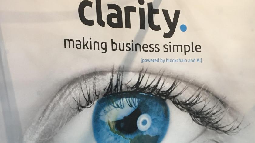 Clarity hails blockchain era at Accountex