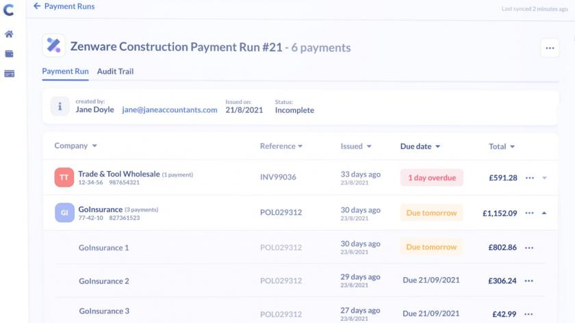 New bulk payment app from Comma