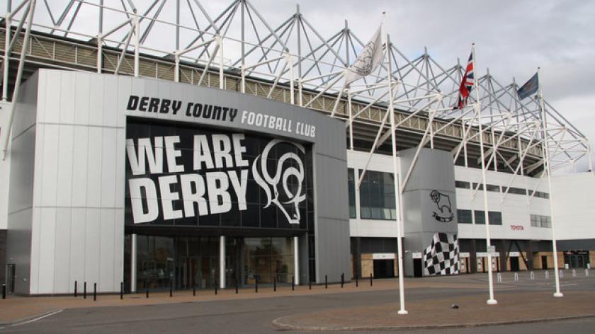 Pride Park Home of Derby County Football Club