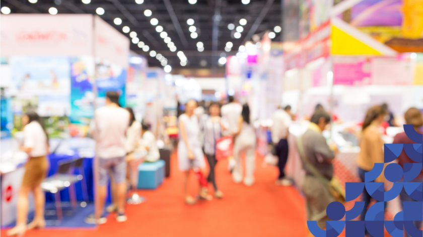 Meet with a huge range of exhibitors at AccountingWEB Live Expo - image of people at an exhibition