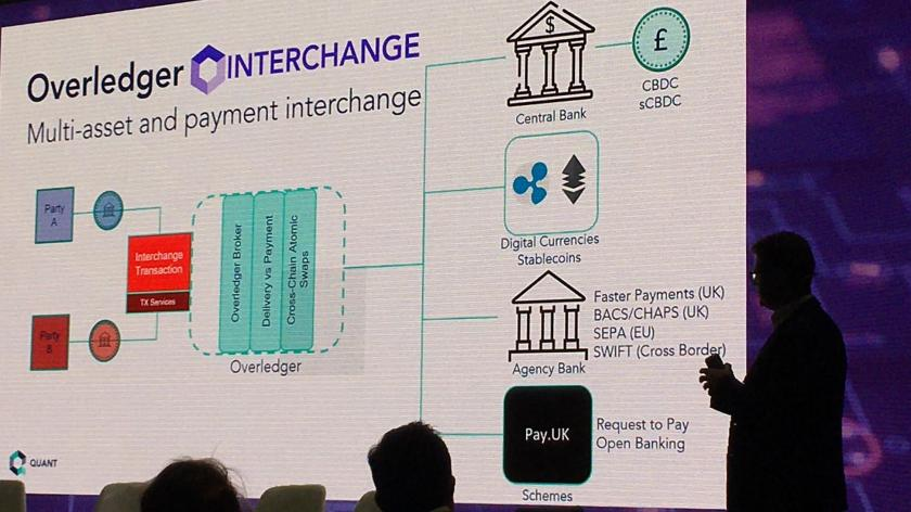 Quant Overledger explained at Fintech Connect 2019