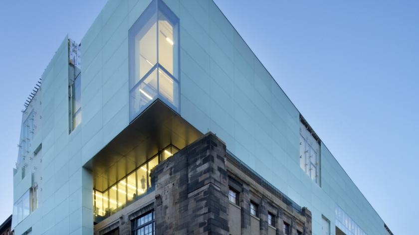 Glasgow School of Art's new Reid buildling - subject to VAT