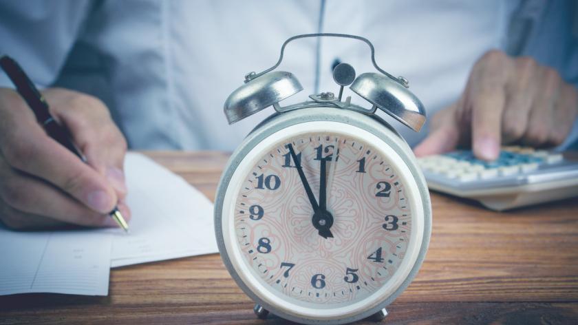 Alarm clock, calculator and forms