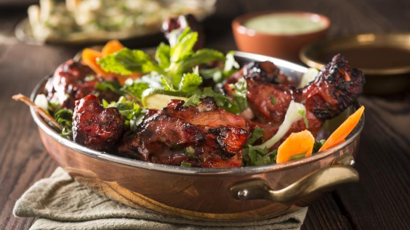 A bowl of chicken tandoori