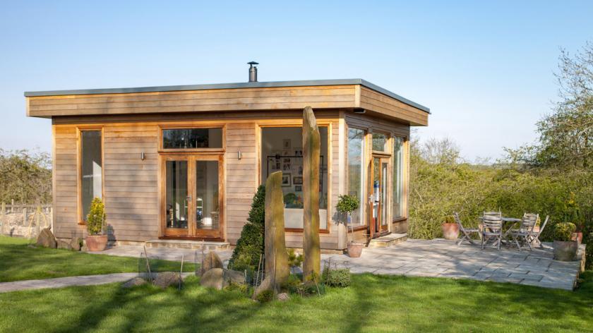 A garden office