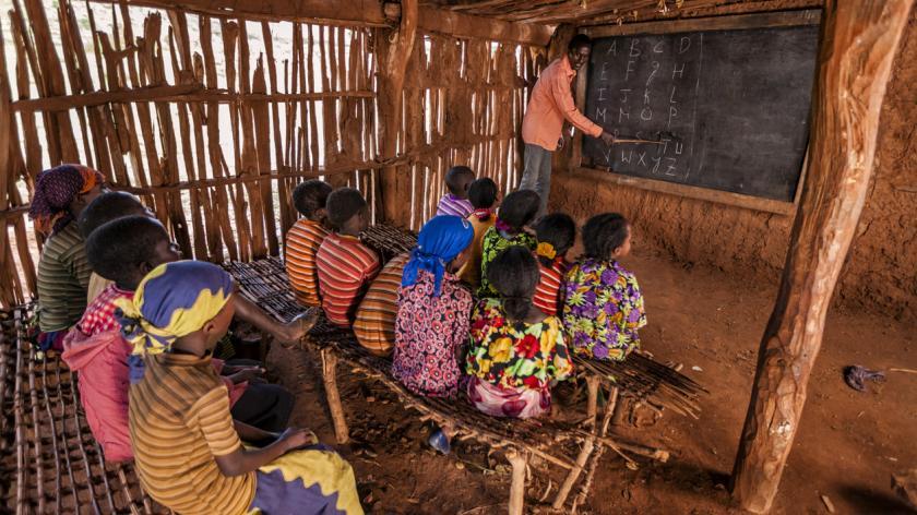 Charity built school