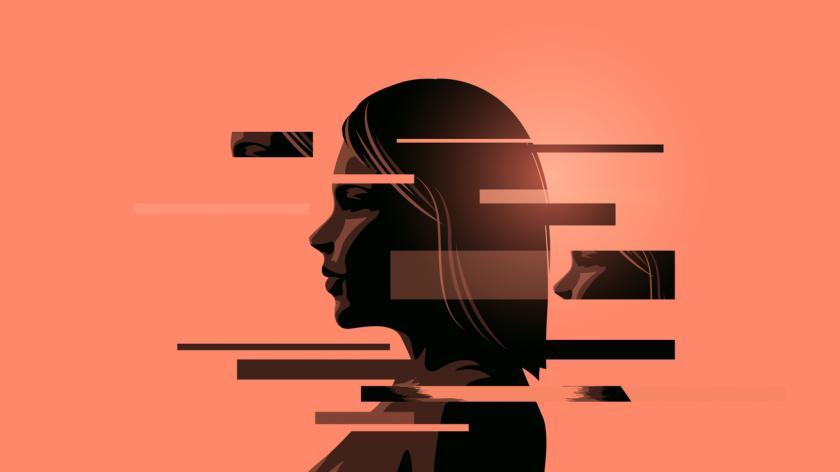 Vectors Women Coping With Mental Health