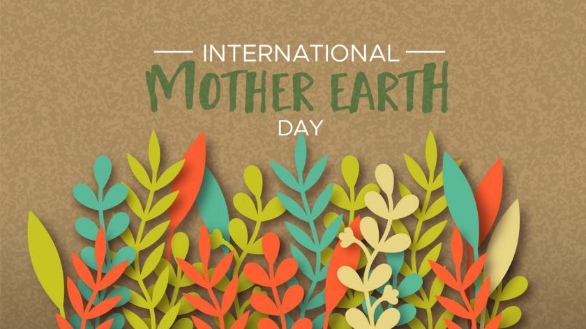 International Earth Day illustration