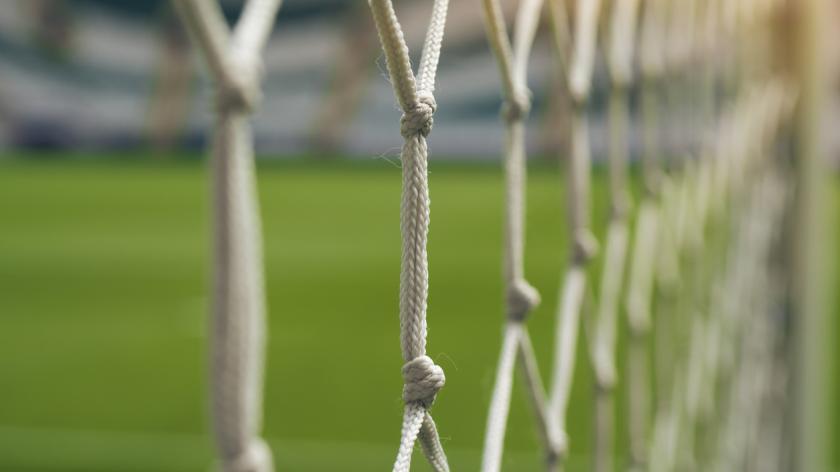 White football net