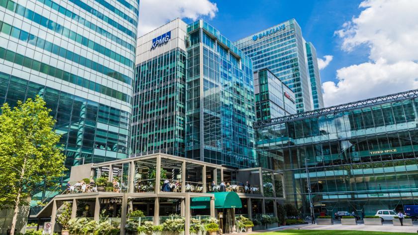 KPMG Canary Wharf Offices