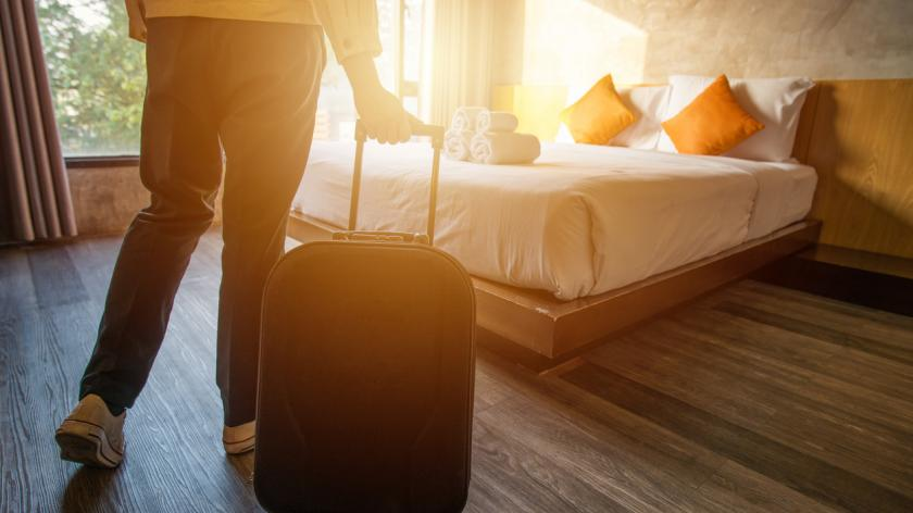 Hotel room travel expenses