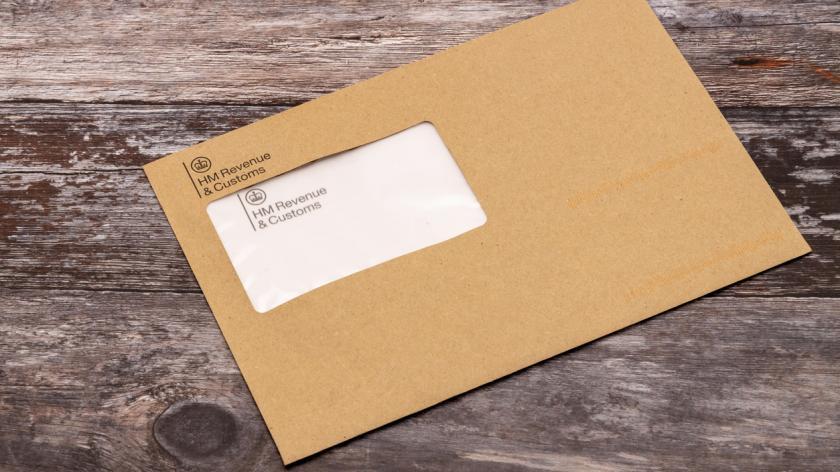 HMRC envelope