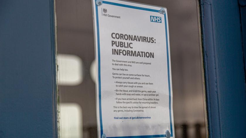 Coronavirus Public Information Poster