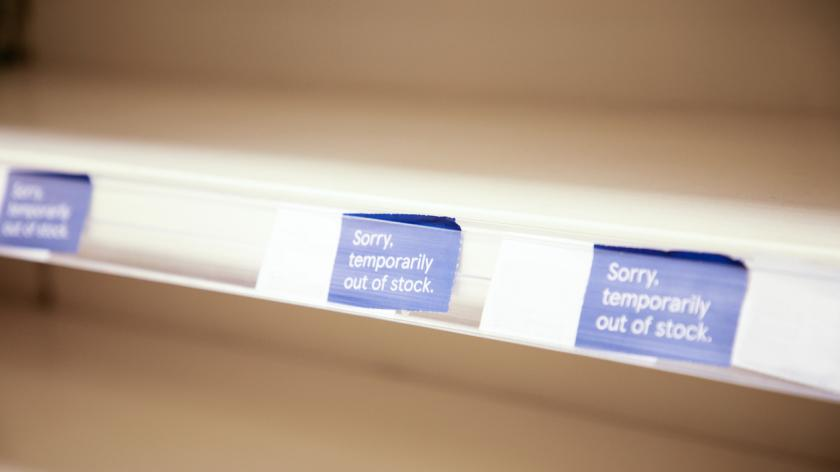 Out of stock labels