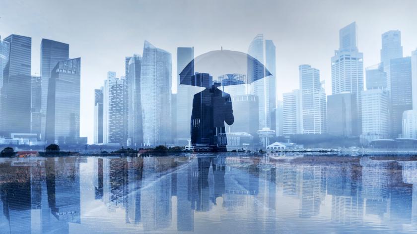 An umbrella company concept