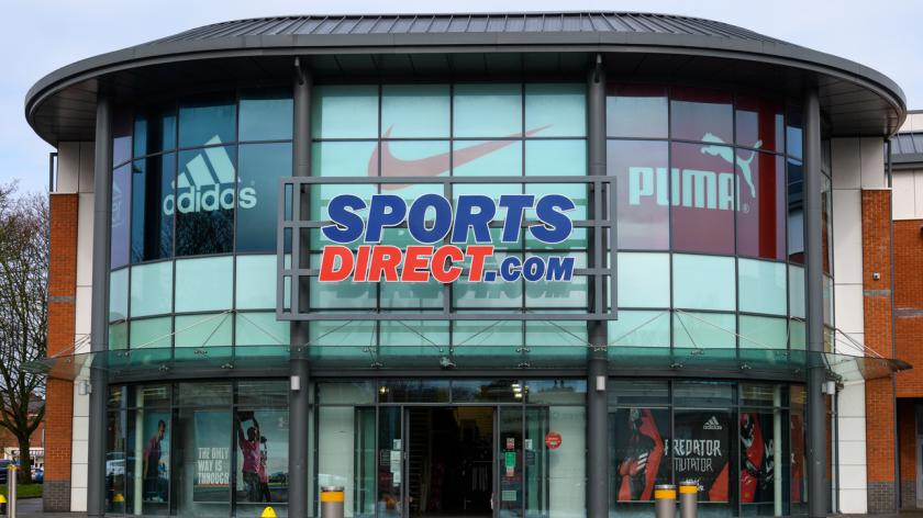 Sports Direct sporting goods