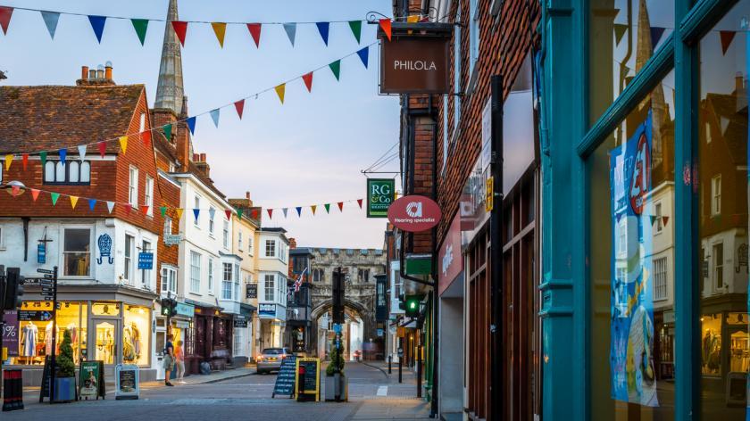 Dorset high street