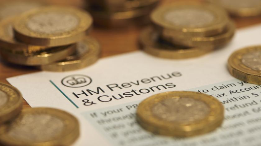 HMRC and money