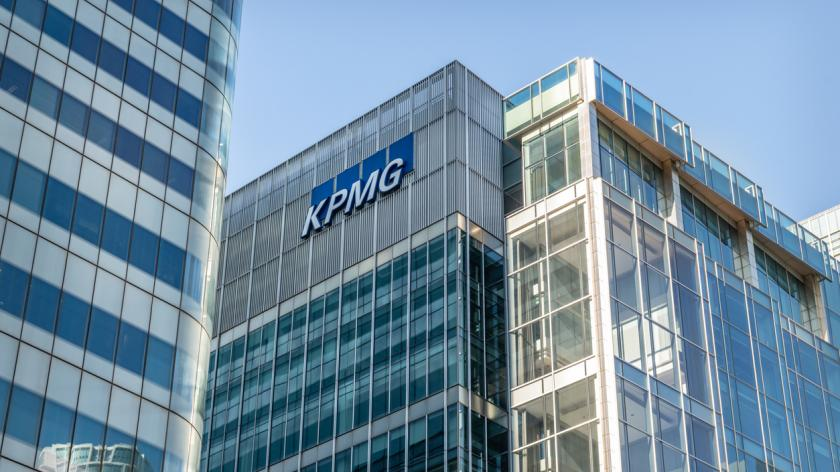 KPMG Accountants Office in Canada Square