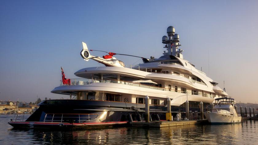 Billionaire superyatch