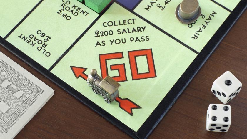 Monopoly salary